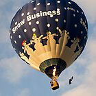 Snow Business Balloon by Lorraine Parramore
