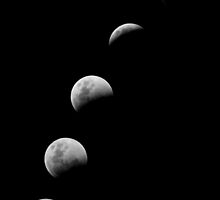 Lunar Eclipse 15 June South Africa by Rob  Southey