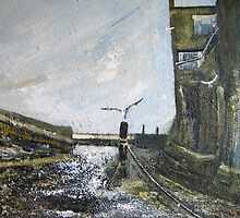 Smuggler's Cottage, Staithes by Sue Nichol