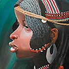 Small beautiful girl Nosipho.(SOLD) by Tatyana Binovskaya