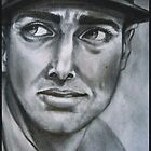 Joe DiMaggio by AlanZinn