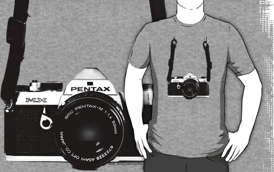 Vintage 35mm SLR Camera Pentax MX  by AnalogSoulPhoto