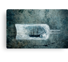 Ship in a Bottle Canvas Print