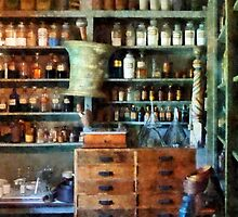 Back Room of Drug Store by Susan Savad