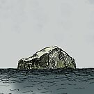 The Bass Rock from Belhaven Bay by Paul Sorensen