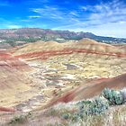 Painted Hills - End Of The Trail by CarrieAnn