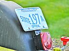 Official Massachusetts Vehicle & Registration Plate  by Jack McCabe