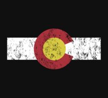Vintage Colorado Flag Kids Clothes