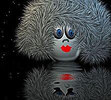 Alien Egg  Woman by Norma Jean Lipert