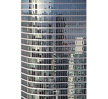 Reflections. Skyscraper Detail from Harbour Tower, Vancouver City, Canada.  Photographic Print