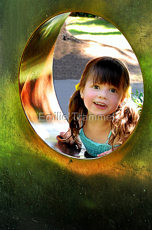 Peekaboo at the Park by Emilie Trammell