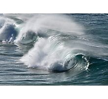 Rolling Surf - SE Qld Australia Photographic Print