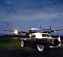 Lockheed Takeoff by Steven  Agius