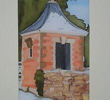 A folly, Harlaxton by Belinda Galsworthy