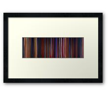 Moviebarcode: Beauty and the Beast (1991) Framed Print