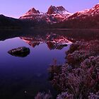 Frosty Cradle Mountain by Paul Campbell  Photography