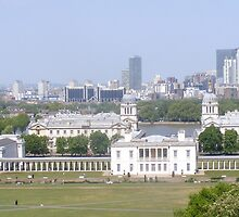 View from Greenwich park. by CarolineLN