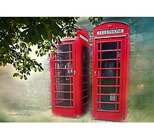 London Calling, Are we Reaching? Photographic Print