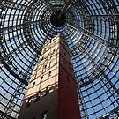 Melbourne Shot Tower - Arcade by Anthony Ogle