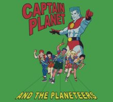 captain planet and the planeteers shirt by kennypepermans