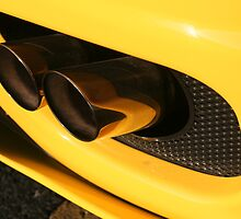 Ferrari 360 Spider Novetec Design - Exhaust by Daniel  Oyvetsky