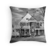 American Home III BW Throw Pillow