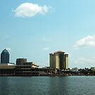 Downtown Tampa by kathy s gillentine