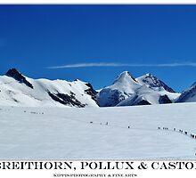 breithorn, pollux & castor by kippis