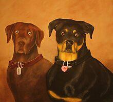 Coco & Tyson by Alexander Beedy