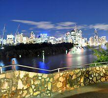 Brisbane City - Cityscape by Jack McClane