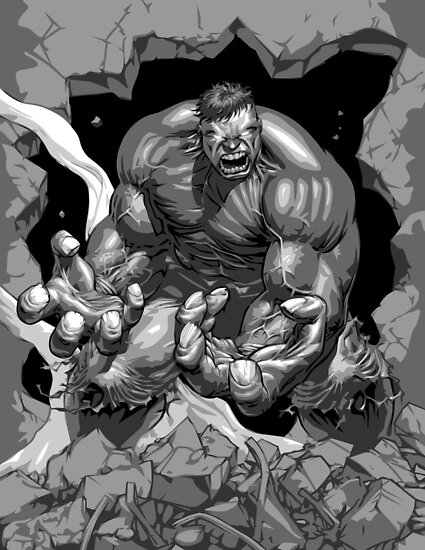 The Hulk by Beetlejuice