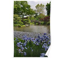 Spring in a Japanese Garden Poster