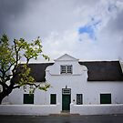 Cape-Dutch house, Tulbach South Africa by Fineli