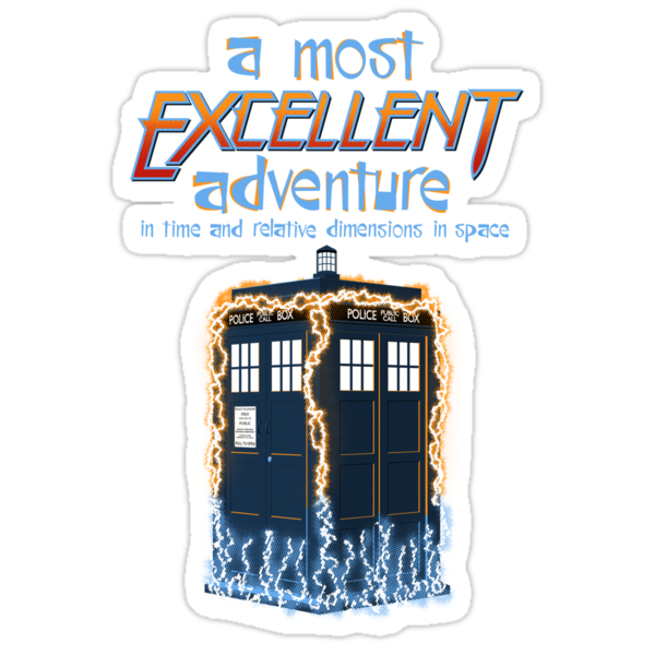A Most Excellent Adventure by shirtoid