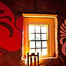 Wall art and a window. Kammieskroon, South Africa by Fineli