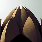 Lotus Temple by Lara Bakes-Denman