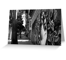 LOVE AND HAIGHT Greeting Card
