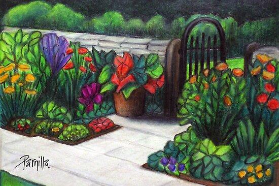 Garden Gate by Parnilla