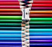 pencil zipper by Michelle McMahon