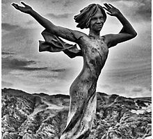 Ekaterine (Kate) Frolov Statue On Capstone Hill by Grant Selby