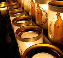 Votive Candles Notre Dame by PhotosbyDrJ