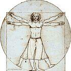 Decent Vitruvian Man by printmeister