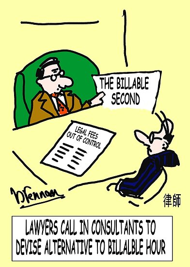 Billable second by Paul Brennan