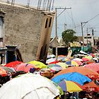 Port au Prince Street Market by Kent Nickell