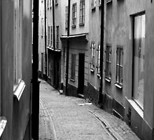 stockholm, old town by bigcamo