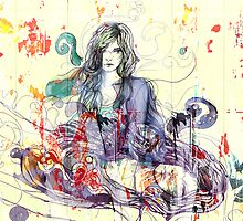Yellow dreams 2 by AniaU