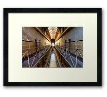 Old Melbourne Gaol Framed Print