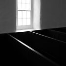 Morning's light on church pews #1 by ragman
