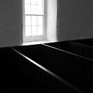 Morning's light on church pews #1 by ragman