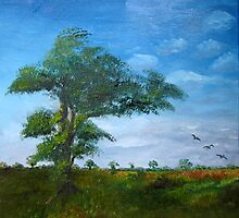 lonely tree by Faith Puleston